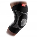 Kelio įtvaras, 4 pusių elastinis su gelio kontraforsais Knee Sleeve 4-way Elastic with Gel Buttress & Stays