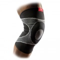 Kelio įtvaras, 4 pusių elastinis su gelio kontraforsais Knee Sleeve 4-way Elastic with Gel Buttress